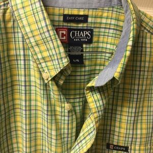 Large chap short sleeve shirt